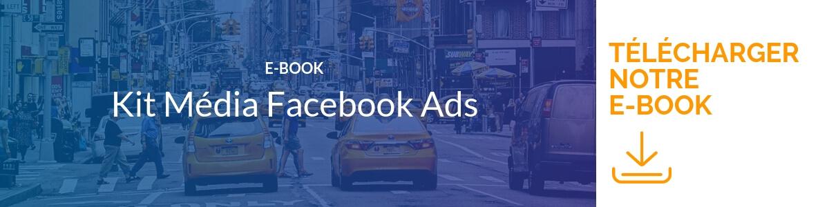 Bannière télécharger notre E-Book Fb Ads