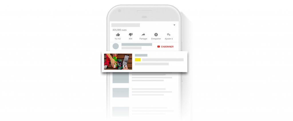 Youtube Ads annonce Discovery